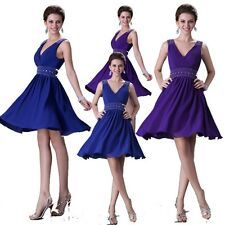 Cheap Short Homecoming Bridesmaid Wedding Gown Prom Party Formal Evening Dresses