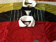 Soccer Referee Jersey Polo Style New! Velcro Pockets Admiral & High Five