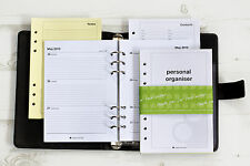 Filofax Personal Organisers Refills. 12 month.  A5.  2014 - 2015 | TOAD Diaries