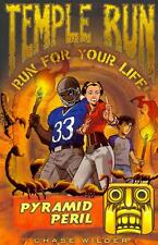 NEW Temple Run: Pyramid Peril by Chase Wilder Paperback Book Free Shipping
