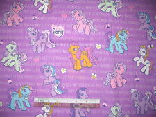 My Little Pony cotton quilting fabric - *Choose design & size