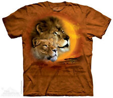Lion Sun T-Shirt From The Mountain - Sizes Adult S - 5X & Child's S - XL