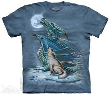 Dragon Wolf Moon T-Shirt from The Mountain - Sizes S through 5X