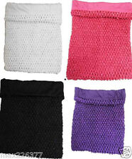 "NEW Girls 7.5"" Lined Crochet Tutu Top tube Colors SALE size 2-4 years CLOSEOUT"