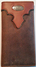 NEW Leather Bi-Fold Wallet Rodeo Fashion Mens  Wallets Checkbook