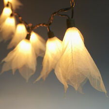 20 FLOWER STRING LIGHTS(REAL LEAF):PARTY,PATIO,FAIRY,DECOR,CHRISTMAS,WEDDING L:2