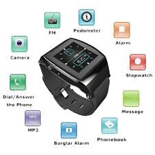 U8 Pro LED Capacitive Touch Screen Bluetooth Smart Watch For iPhone Android HTC