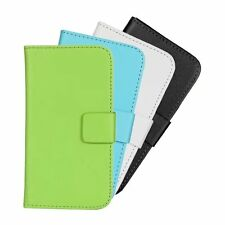 NEW PU Leather Slot Wallet Stand Flip Cover Skin Case Shell For HTC Desire 310