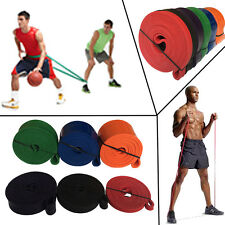 Resistance Bands Yoga Stretch Fitness Strength Exercise Gym Bands Free Ship