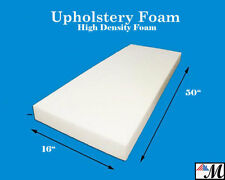 """Seat Foam Cushion Replacement Upholstery Per Sheet - All Sizes! 16""""x50"""""""