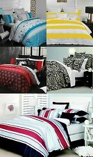Casual Living Range by Logan & Mason QUEEN Bed Size Quilt / Doona Cover Set NEW