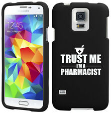 For Samsung S3 S4 S5 Active Rubber Hard Case Cover Trust Me I'm A Pharmacist