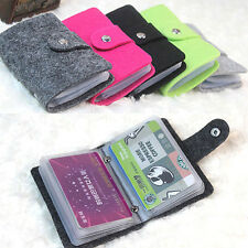 New Fad Womens Pouch Id Credit Card Wallet Cash Holder Organizer Case Box Pocket