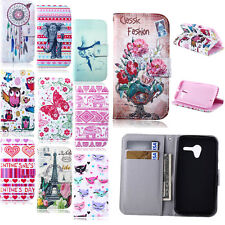 Beautiful Design Card Hold Handbag Flip Leather Wallet Stand Soft Case Cover New