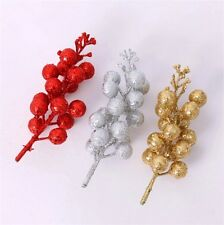 13cm Tree branches Christmas Tree Ornaments Garland Decor Decoration 1 pc