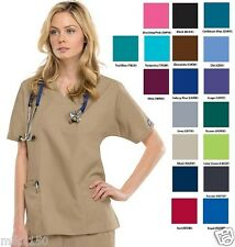 Cherokee Workwear V Neck Top 4700 Choose Color/Size  New With Tags