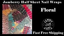 Jamberry Nail Half Sheet Nail Wraps FAST FREE SHIPPING Floral Designs