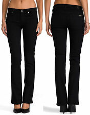 NWT 7 SEVEN FOR ALL MANKIND JEANS THE SKINNY BOOTCUT ELASTICITY BLACK SZ 24 - 31