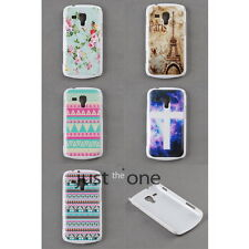 Chic Pattern Hard Skin Case Cover Back for Samsung Galaxy Trend Duos S7562 S7560
