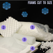 Fake snow decorations foam white snow display snow blanket roof snow