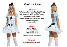 SEXY Alice In Wonderland Style Fairytale Hallowen Fancy Dress Party Costume