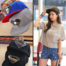 New Women Men Unisex Superman Hip-hop Baseball Cap Adjustable Snapback Hat
