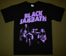 BLACK SABBATH BAND TONY IOMMI OZZY OSBOURNE MASTER OF REALITY NEW BLACK T-SHIRT