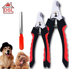Pet Animal Dog Cat Bird Grooming Nail Clippers With Nail Files Scissors Trimmer