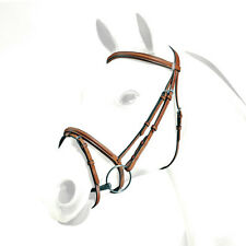 Equipe Emporio Raised Comfort Bridle with Flash (BRE06 - With Stitching)