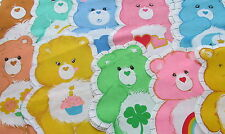 Vtg 80s Carebears fabric panel Cut n Sew pillow doll CHOOSE Birthday Wish Love