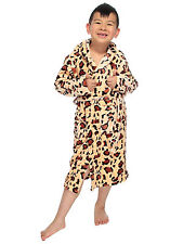 Bathrobe for Childs with Double Stitched Pockets & Belt Spa Home Bathrobe