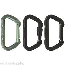 Omega Pacific Tactical D Carabiner - Strong & Reliable, Strength: 31kN, Aluminum