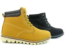 Women's Work Boots Combat Hiking Snow Shoes Booties Non Slip High Top Lace Up
