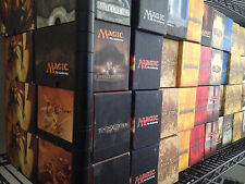 MTG Magic the Gathering Empty Fat Pack Boxes 29 different sets!  LQQK!