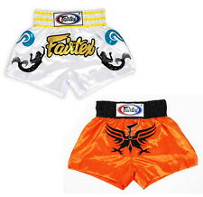 FAIRTEX MUAY THAI KICK BOXING MMA K1 FIGHTING SATIN SHORTS BS0643 BS0644 BS0645
