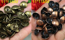 Lots of 50-1000pcs Upholstery Nails Tacks Studs Pins 9/11MM Furniture Decorative
