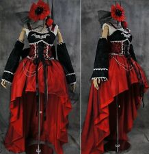 a222 S/M/L/XL/XXL GOTHIC LOLITA Vampir Cosplay Kostüm Luxus costume dress
