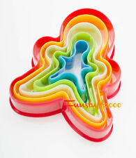 Cookie Biscuit Cutter Set, Xmas Tree Star Flower Heart Round Square Gingerman