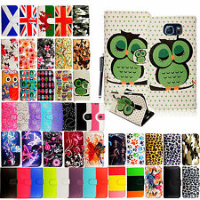 For Various Samsung Phones PU Leather Wallet Book Type Folio Case Cover + Stylus