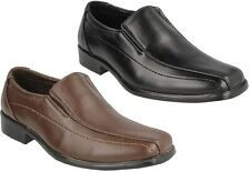 JCDEES BOYS SMART SHOES IDEAL FOR SCHOOL OR CASUAL WEAR IN BLACK & BROWN N1077