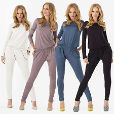NEW Women's Sexy Bodycon Long Sleeve Jumpsuit Jumper Playsuit Rompers Catsuit
