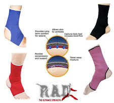 One Pair Ladies & Gents Ankle Foot Brace Support Pain Injury Relief Foot S-XXL