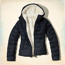 HOLLISTER WOMEN'S NORTH JETTY PUFFER JACKET SIZES XS, S, M, L
