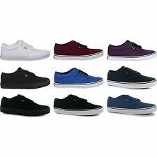 Mens Vans Atwood Canvas Trainers New