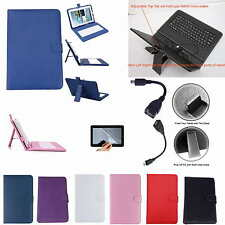 """Colorful Keyboard Case+Film+Pen For 10.1"""" Nextbook NXW10QC32G Windows 8.1 Tablet"""