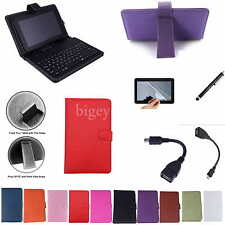 "7 inch Keyboard Case+Film+Pen For 8"" Insignia NS-15MS08 Win8 Windows Tablet PC"