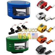 7 Color Universal CNC Brake Clutch Master Cylinder Fluid Reservoir Tank Oil Cup