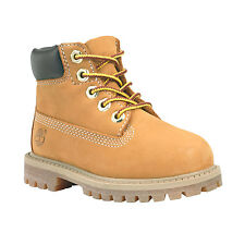 Timberland 6-inch Premium 12809 Toddler Kids Leather Wheat Boots