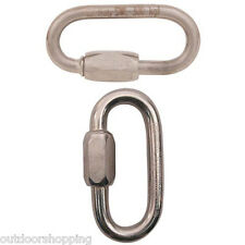 Kong Stainless Steel Quick Link - Ideal For Setting Up Anchors, High Quality