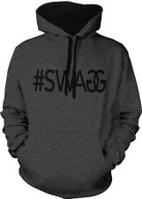 #SWAGG Swag Hashtag Double G Dope Hip Hop Rap Lyrics 2-tone Hoodie Pullover